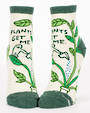 Blue Q Ankle Socks - Plants Get Me