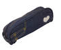Denim U-Shape Barrel Pencil Case