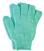 Exfoliating Printed Bath Glove - Mint