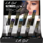 LA Girl Ultimate Auto Eyeliner Display - 96pcs