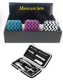 Chevron Manicure Set - Display 12pcs