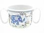 Blue Elephant Double Handled Mug