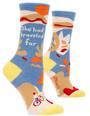 Blue Q Socks - She Had Traveled Far