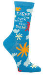 Blue Q Socks - Carpe Diem