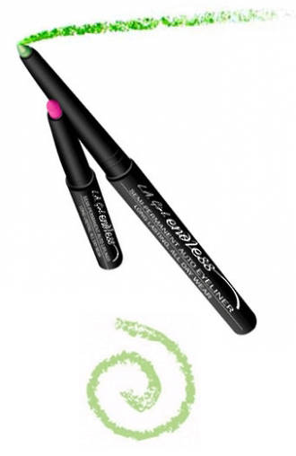 LA Girl Endless Auto Eyeliner Pencil - Electric Green