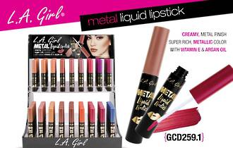 LA Girl Metal Liquid Lipstick Display - 216pcs