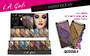 LA Girl Eye Lux Eyeshadow Display - 192pcs