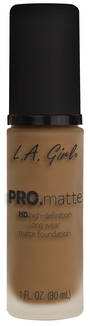 LA Girl Pro Matte Foundation - Cafe